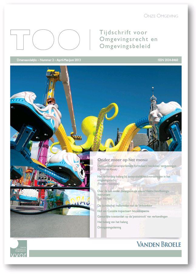 TOO - Tijdschrift voor Omgevingsrecht en Omgevingsbeleid