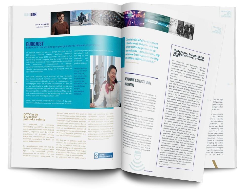 Blue Minds - Uw tijdschrift voor politie en maatschappij