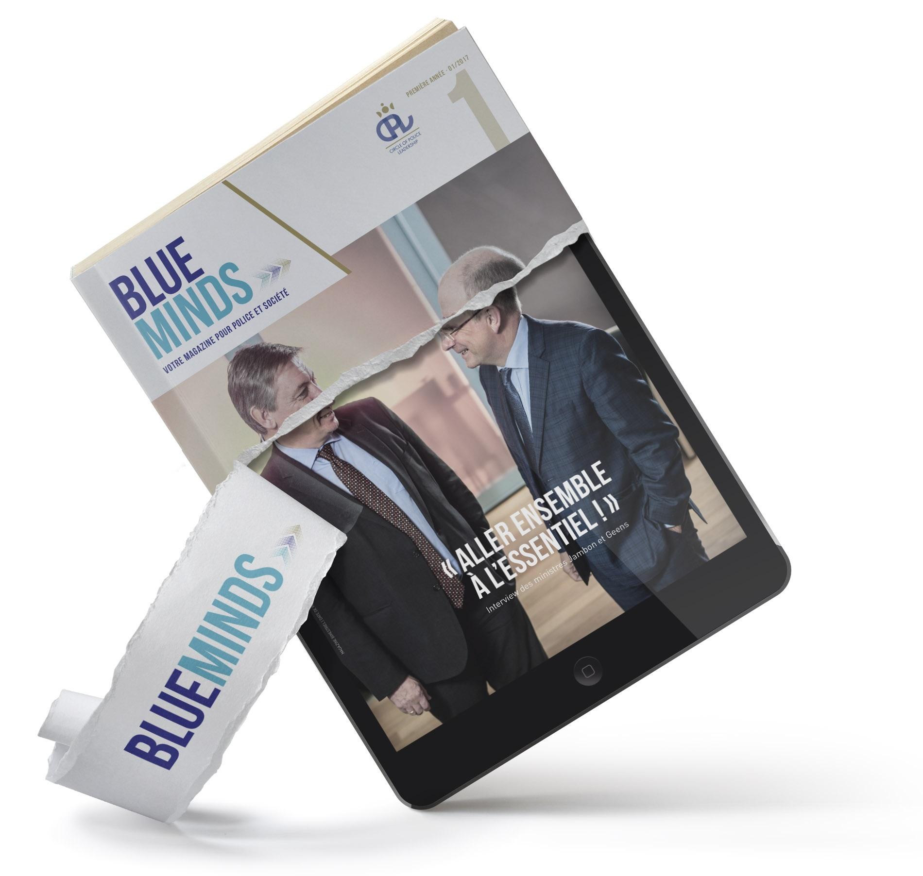 Blue Minds - Votre revue policière de société