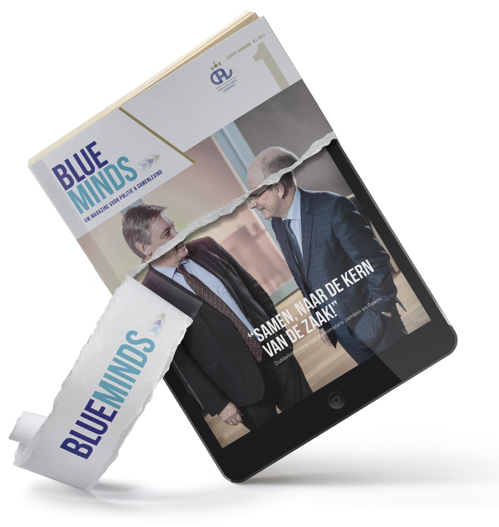 Blue Minds - uw tijdschrift voor politie & maatschappij